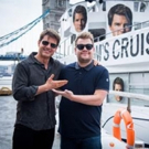 VIDEO: Tom Cruise & James Corden 'Cruise' the River Thames to Celebrate Star's Film Career