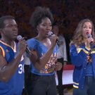 VIDEO: HAMILTON National Tour Cast Performs National Anthem at NBA Finals