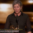 STAGE TUBE: Tony-Winner Frances McDormand Gives Shortest Acceptance Speech After Emmy Win