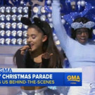 VIDEO: Sneak Peek - Ariana Grande & More Perform on DISNEY PARKS CHRISTMAS CELEBRATION