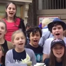 VIDEO:  MATILDA Kids Sing 'When I Grow Up' at The Broadway Flea Market