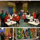 Art Show At SpringHill Suites Orlando at SeaWorld Inspires Young Artists