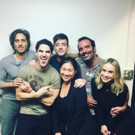 PHOTO: GLEE Cast Reunites to Show Love for HEDWIG's Darren Criss!