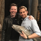 Photo Flash: Sean Hayes Kisses the Cod at COME FROM AWAY