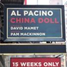 Up on the Marquee: CHINA DOLL, with Al Pacino