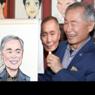 Photo Coverage: George Takei Celebrates His New Sardi's Portrait with His ALLEGIANCE Cast!