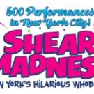 SHEAR MADNESS Celebrates Its 500th Performance Thursday