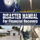 Robert Winter Announces Second Book, DISASTER MANUAL FOR FINANCIAL RECOVERY