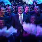 VIDEO: Stephen Colbert Has 'Mariah' Moment in Recreation of New Year's Eve Performance