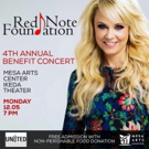 Red Note Foundation Ambassador Shari Rowe to Perform in SOUNDS OF CAROLS Benefit at Mesa Arts Center
