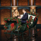 VIDEO: Seth Meyers & Mariah Carey Chat Christmas Traditions While Sitting in a Sleigh!