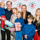Photo Flash: Big Apple Circus Family Benefit with Guest Ringmaster Jim Gaffigan Raises Over $420K