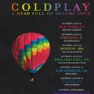 Coldplay Announces U.S. Stadium 'Head Full of Dreams' Tour