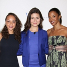 FREEZE FRAME: Schuyler Sisters Pose with Elly Awards Honoree Phillipa Soo