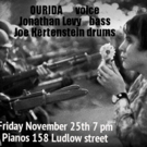 Ourida to Perform This Thanksgiving Weekend at PIANOS