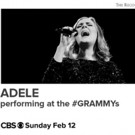 Ten-Time Grammy Winner Adele to Perform on  59TH ANNUAL GRAMMY AWARDS