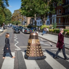 PHOTO: DOCTOR WHO's Peter Capaldi & Jenna Coleman Rock Out at Beatle's Abbey Road Crossing