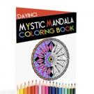 Troy DaVinci Pens 'Mystic Mandala Coloring Book for Stress Relief'