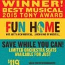 Save now on FUN HOME, Broadway's Tony-winning Best Musical