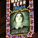 Up on the Marquee: THE CRUCIBLE