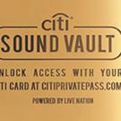 Citi to Launch New Live Music Platform 'Citi Sound Vault'