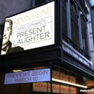 STAGE TUBE: Watch the Marquee Go Up for PRESENT LAUGHTER