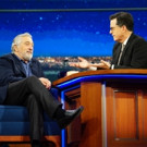 VIDEO: Robert DeNiro Talks New Film 'The Comedian' on LATE SHOW
