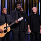 VIDEO: Black Simon & Garfunkel Perform 'I Can't Feel My Face' with the Real Art Garfunkel on TONIGHT SHOW