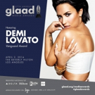 Demi Lovato to Be Honored at 27th Annual GLAAD Media Awards In Los Angeles