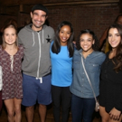 Photo Coverage: From Rio to Broadway- The Final Five US Women's Gymnastics Team Visits HAMILTON!
