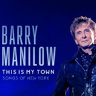 Music Legend Barry Manilow Announces 2017 Three City Concert Residency