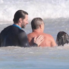 Hugh Jackman Rescues Swimmers from Strong Riptide on Sydney Beach