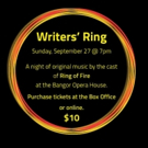 Cast of Penobscot's RING OF FIRE Set for Writers' Ring, 9/27