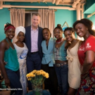 Photo Flash: Mayor Bill de Blasio and First Lady Chirlane McCray Visit ECLIPSED