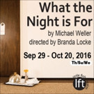 Little Fish Theatre Presents WHAT THE NIGHT IS FOR