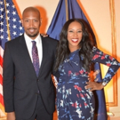 Bryan Terrell Clark and June Ambrose Emcee HELP USA Luncheon