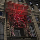 PINK LOTUS: Light Sculpture on Display at The Peninsula Hotel New York, Now thru 11/15