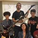 Photo Flash: Lena Hall and SCHOOL OF ROCK Kids Pose with Lin-Manuel Miranda After #Ham4Ham