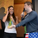 STAGE TUBE: Forget #Ham4Ham! Today Was #Swam4Ham with Olympian Maya DiRado