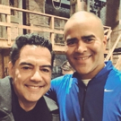 Photo Flash: Atencion! IN THE HEIGHTS' Christopher Jackson and Carlos Gomez Reunite at the Richard Rodgers