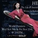 'HEDY! The Life & Inventions of Hedy Lamarr' Extended by Popular Demand