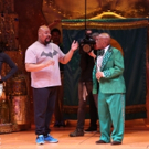 Photo Flash: First Look - 'Today's Al Roker & Natalie Morales Cameo in Broadway's ALADDIN