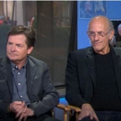 VIDEO: BACK TO THE FUTURE's Michael J. Fox, Christopher Lloyd & Lea Thompson Reunite on 'Today'