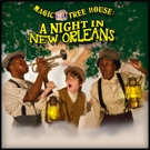 Cast Set for MAGIC TREE HOUSE: A NIGHT IN NEW ORLEANS at Stages Theatre Company