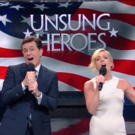 VIDEO: Stephen Colbert & Jane Krakowski Sing a Song for America's 'Unsung Heroes'