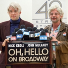 Photo Coverage: OH, HELLO's Nick Kroll &�John Mulaney� Meet the Press... in Character!