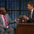 VIDEO: 'KIMMY SCHMIDT's Tituss Burgess & Seth Meyers Share a Class of 'Pinot by Tituss'