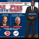 ENTERTAINMENT TONIGHT's Kevin Frazier to Throw Out First Pitch at 4th Annual LA Dodgers Adoptee Night