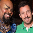 Photo Flash: Adam Sandler Attends ALADDIN on Broadway