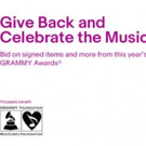 Grammy Charity Online Auctions Offer Exclusive Music Memorabilia